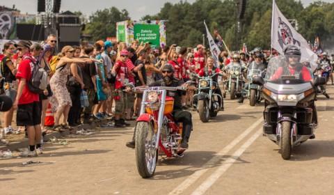 Woodstock-2012 - parada motocyklowa - zdjęcie 11