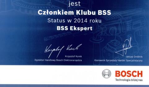 Po raz kolejny dołączyliśmy do klubu BSS Ekspert 2014