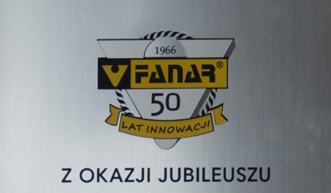 Podziękowania za wieloletnią współpracę od Fabryki Narzędzi Fanar S.A.
