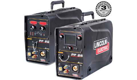Przenośne, cyfrowe podajniki drutu Lincoln Electric Power Feed 22 i 26