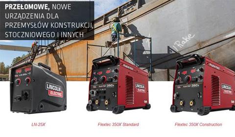 Urządzenie wieloprocesowe Flextec 350X oraz podajnik LN 25X LINCOLN ELECTRIC
