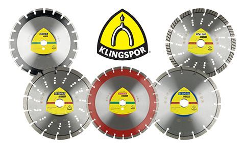 Nowości w asortymencie tarcz diamentowych KLINGSPOR