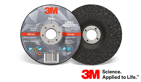 Tarcze 3M™ Silver do szlifowania – Szlifowanie bez kompromisów