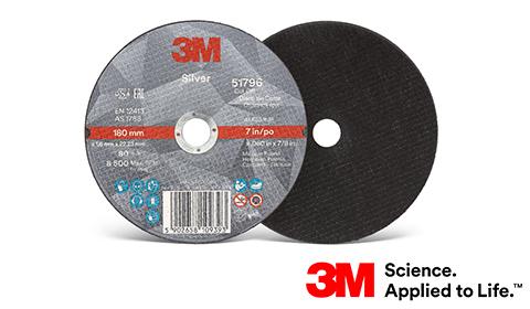 Tarcze 3M™ Silver do cięcia – Nowy wymiar cięcia