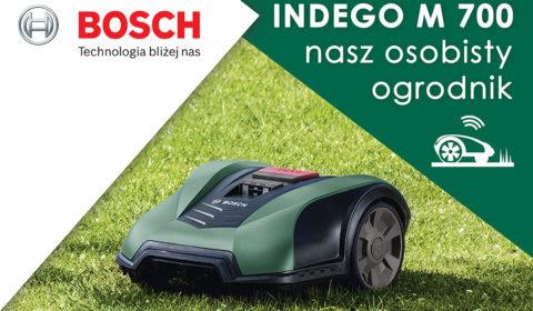 Robot koszący Indego od Bosch