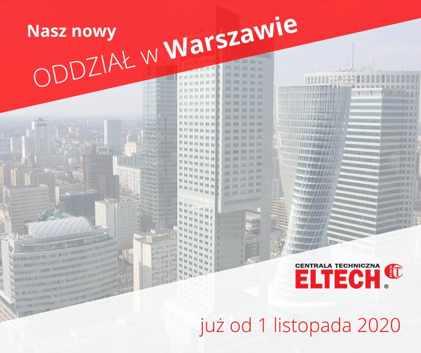 Oddział w Warszawie z logo